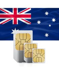 Australian flag SIM card for Australia