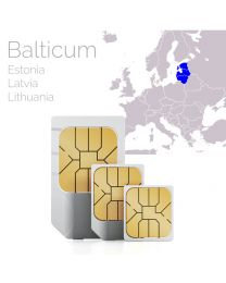 SIM card for Baltic states Estonia Latvia Lithuania