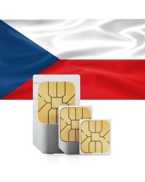 SIM card for use in the Czech Republic