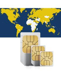 Global data sim card for global use in 132 countries