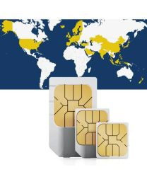 Global, sim card for global use in 48 countries