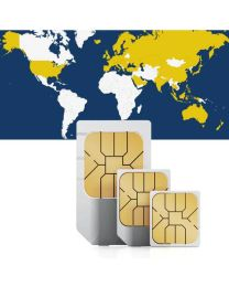 Global data sim card for global use in 62 countries