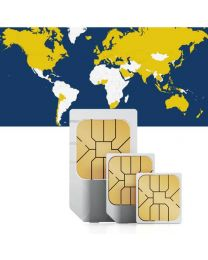 Global data sim card for global use in 77 countries