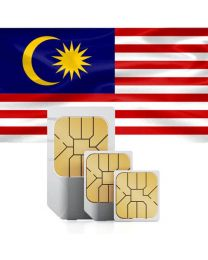 Malaysian flag data sim card for use in Malaysia