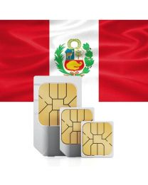 SIM card for Peru with fast mobile Internet & calls