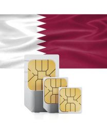 SIM card for Qatar with fast mobile Internet & calls.