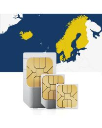 SIM card to use in Scandinavia with fast mobile internet & calls