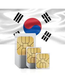 SIM card for  South Korea with fast mobile Internet & calls.