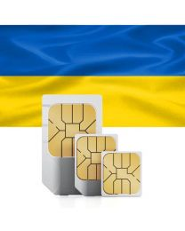 SIM card for Ukraine with fast mobile Internet & calls
