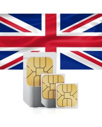 Flag of the United Kingdom, sim card for use in the UK