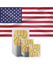 Flag of the United States, sim card for use in the USA