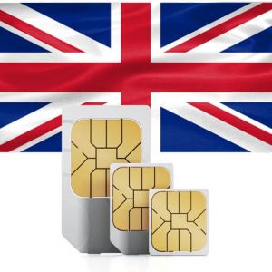 SIM card for the United Kingdom